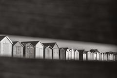 Beach hut gap, West Mersea, Essex (Sean Hartwell Photography) Tags: westmersea merseaisland mersea beachhut beach hut seaside sea essex england english holiday recreation groynes