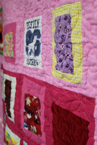 memory quilt, recycled fabric quilt, custom memory quilt, mamaka mills, alix joyal 4