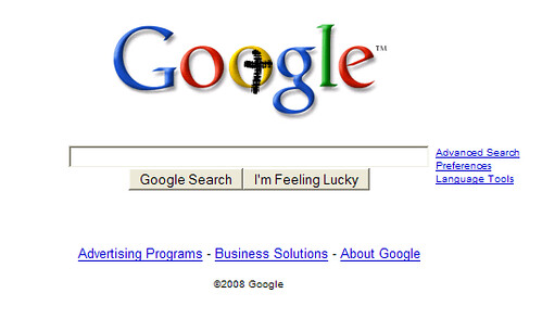 Google Ash Wednesday Logo