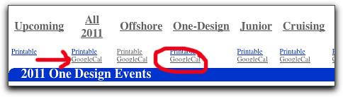 Google Cal2