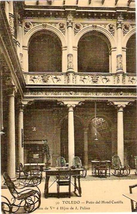 Hotel Castilla de Toledo a comienzos del siglo XX