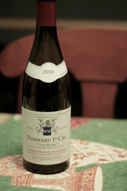 2008 Machard de Gramont Pommard Clos Blanc 1er Cru