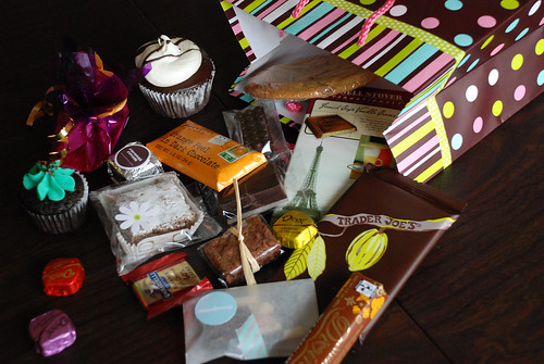 Monroe Street Chocolate Walk goodies
