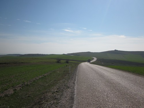 Quiet road near Manyas