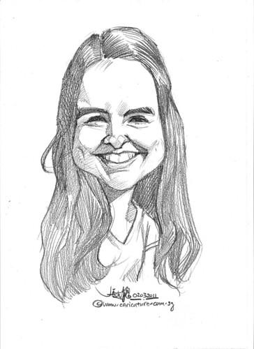 caricature in pencil - 4