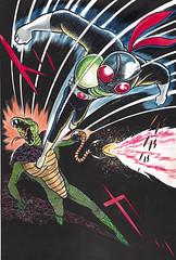 110329 - 慶祝「假面騎士」誕生40週年、1971年的夢幻逸品【元祖上色版】漫畫全集將在5月下旬問世! (5/5)