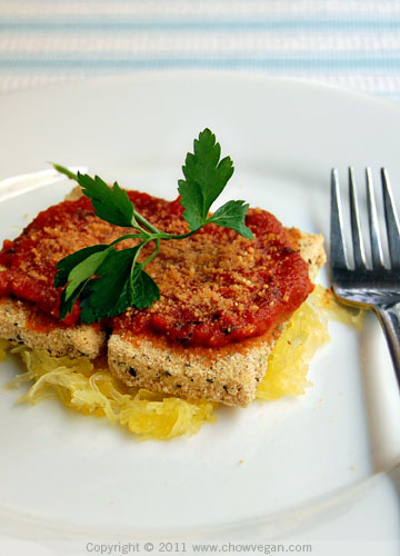 Baked Tofu Parmesan From The Happy Herbivore