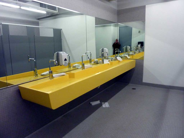 P1090284-2011-03-30-Hinman-Building-Opening-Yellow-Sink