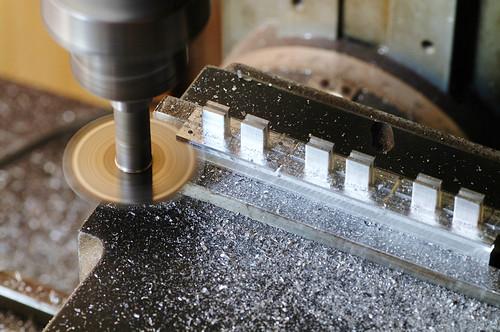 Separation cut process
