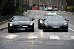 Evil's power (Florian photography (Floflo69)) Tags: paris mercedes ferrari turbo porsche scuderia sls amg supercars 430 porscheturbo rallydeparis parisrally blackferrari worldcars ferrari430scuderia 430scuderia canoneos1000d italiansupercars slsamg blacksupercars germansupercars supercarsinparis parissupercars floflo69