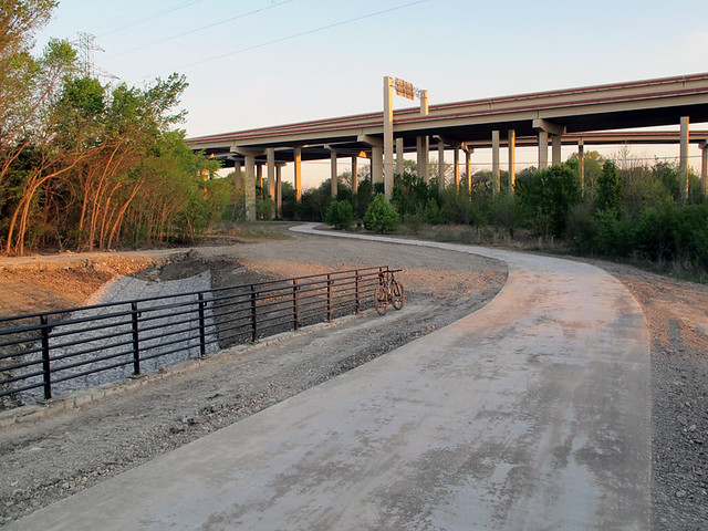 Trail Heading Towards PGB Tollway