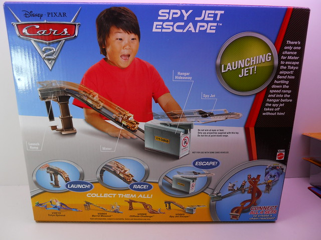disney cars 2 spy jet escape track set (3)