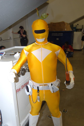 Wonder Con 2011: Yellow Ranger Pikmin