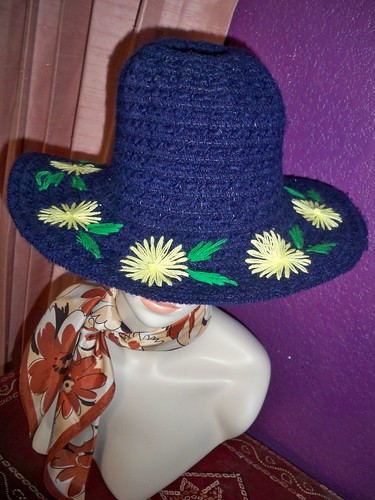 Vintage Embroidered Hat by Smack Hippie