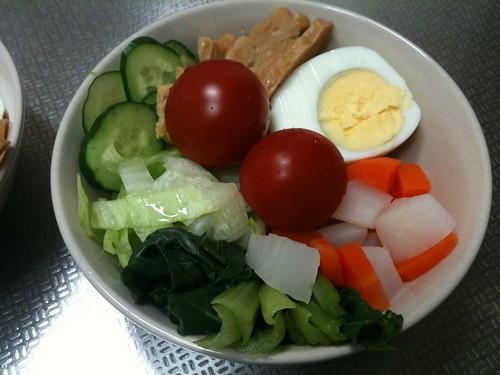 朝食サラダ(2011/4/2)