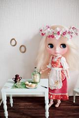 Girl of spring