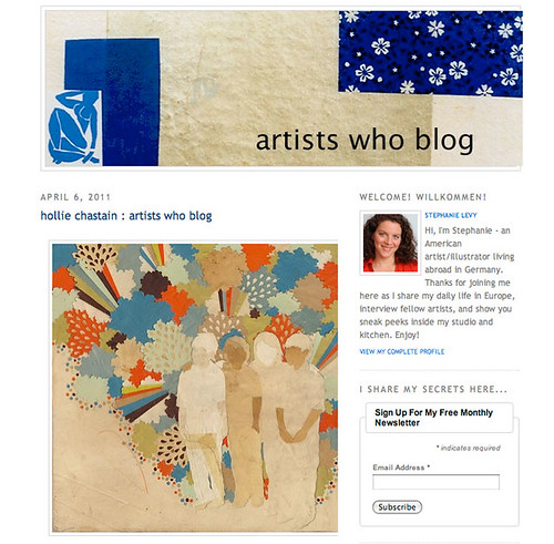 Artists Who Blog interview