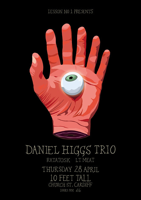 DANIEL HIGGS TRIO