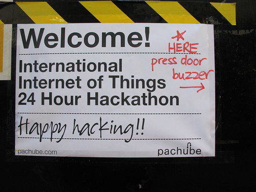Pachube hackathon