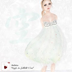 Robe de fillette Ciel AD