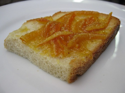Toasted with Pim's Royal Mandarin Ceylon Cinnamon marmalade