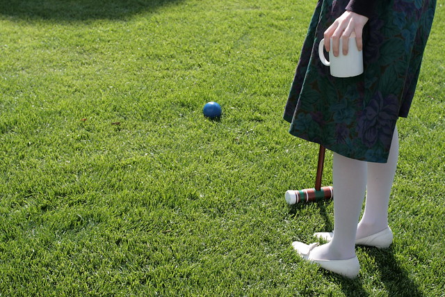 pimm's and croquet