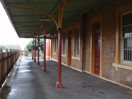 Milthorpe Railway Platform