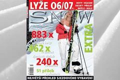 SNOW 27 EXTRA - největší přehled sjezdového vybavení 06/07 - LYŽE, BOTY, VÁZÁNÍ, PŘILBY...