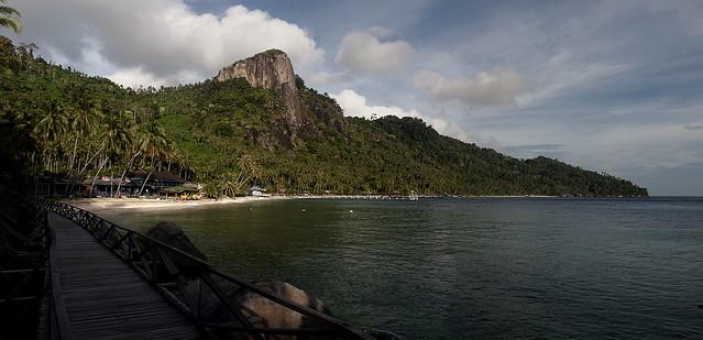 Pemanggil Island Scenery