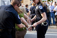2011 04 11 - 7697 - Washington DC - DC Rights Protest (thisisbossi) Tags: usa washingtondc us dc unitedstates budget ne congress rights activism northeast protests federal activists capitolhill arrested dcvote arrests autonomy taxationwithoutrepresentation capitolpolice constitutionavenue arresting 2011 statesrights votingrights notaxationwithoutrepresentation smallgovernment selfgovernance localrights