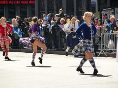 Upkilt (agent j loves nyc) Tags: nyc newyorkcity dancing parade upskirt tartan 2011 upkilt tartandayparade scottishdancers scotlandweek