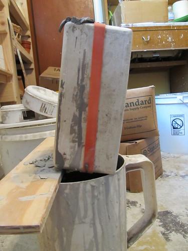 Draining the mold