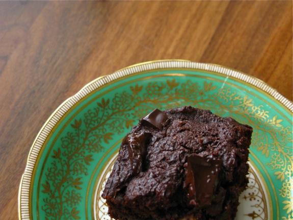 whole wheat chocolate brownies 001