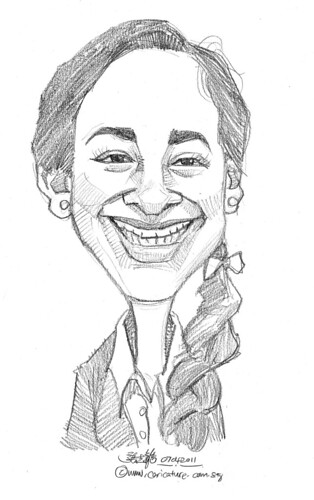 caricature in pencil - 39