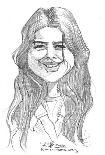 caricature in pencil - 26