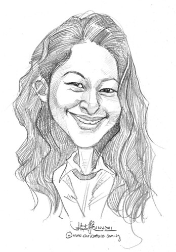 caricature in pencil - 45