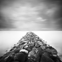 Where I Want To Go (Scott Howse) Tags: uk longexposure sea england sky blackandwhite bw mono coast rocks lee dorset filters graduated nd1000 nd110 nd30 09h