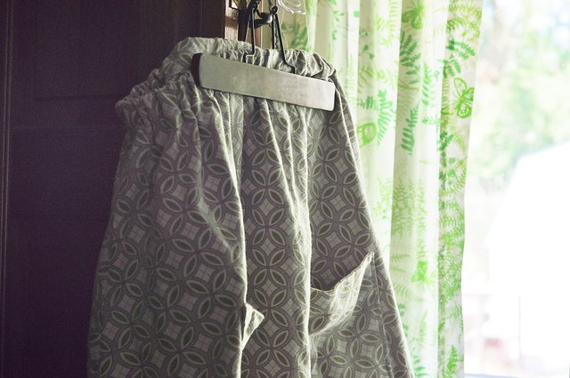skirt from tablecloth.