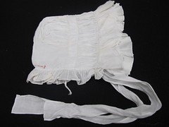 Victorian Frilled Whitework Bonnet 15 (mondas66) Tags: french ruffles linen lace embroidery antique caps lawn victorian ivory cotton cap lacy bonnet embroidered eyelet frilly ayrshire ruffle muslin bonnets frills frill ruffled batiste lacework frilled whitework frilling frillings broderieanglais befrilled pointdeparis