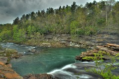 Into the Canyon (the waterfallhunter) Tags: waterfall littlerivercanyon lookoutmountain hdr littleriver dekalbcounty cherokeecounty fortpaynealabama littleriverfalls littlerivernationalpreserve
