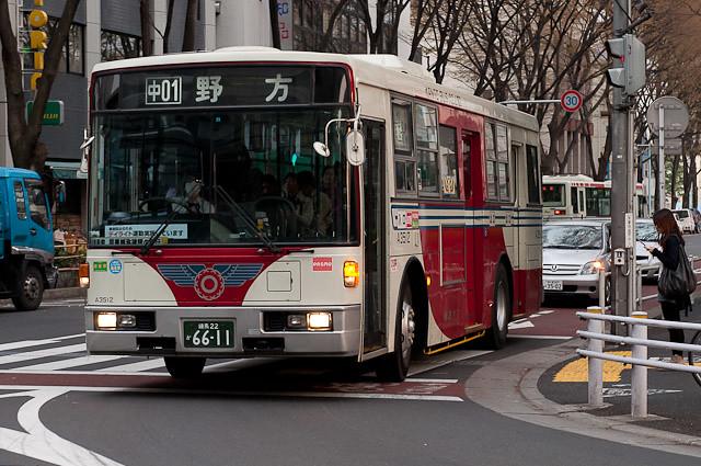 関東バス 阿佐谷営業所 A3512
