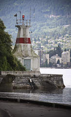 Prospect Point Lighthouse (A Great Capture) Tags: ocean park trip travel light vacation lighthouse house west june vancouver point bc waterfront pacific path britishcolumbia stanley westcoast prospect tripwithmom vancouver2010b ashleylduffus wwwashleysphotoscom