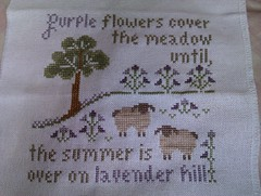 lavender hill finished