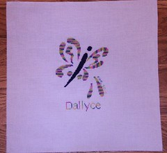 quilt square for Dallyce by Maggi