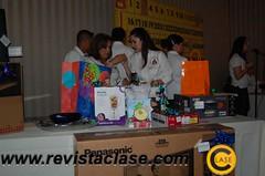DSC_2717  Los asietntes tuvieron la oportunidad de ganar diversos premios.