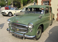 Hillman Minx UJH 537 at Amberley (kitmasterbloke) Tags: minx hillman amberley postofficevehicleclub royalmailgpocartruck