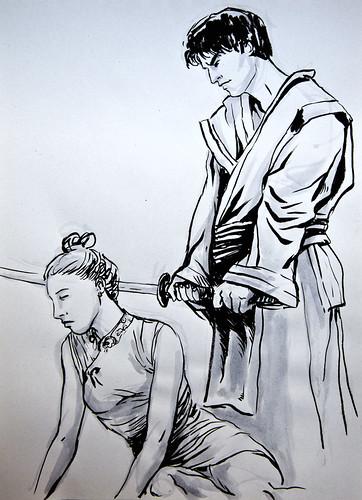 Dibujo Murcia - Japón
