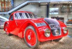 Old Jawa Sports Car (Manesova) Tags: red sports car all transport oldcar hdr types redcar oldsportscar jawacar redsportscar