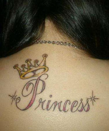 princess crown tattoos for girls. ink tattoo princess crown