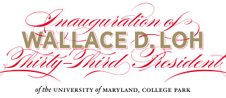 University of Maryland Celebrates Loh Inaugural Week by University of Maryland Press Releases